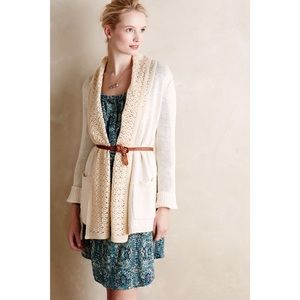 Angel Of The North Evenie Chenille Cardigan